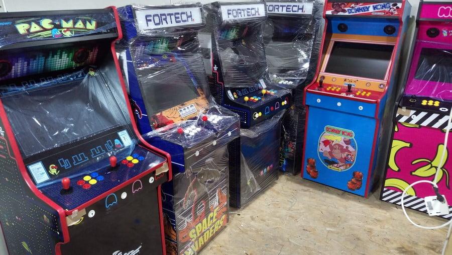 Portofolio Arcade Machine