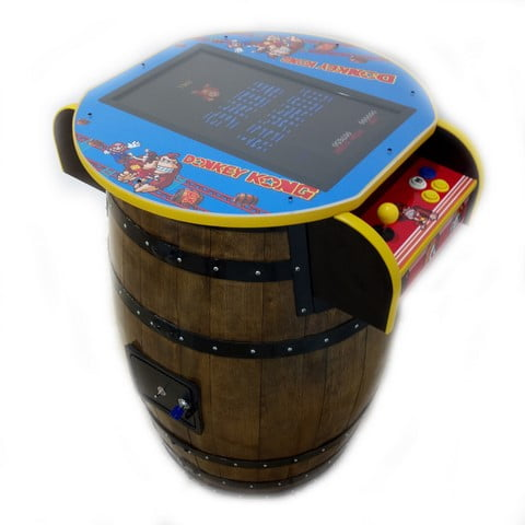 Barrel Arcade Machine Donkey Kong