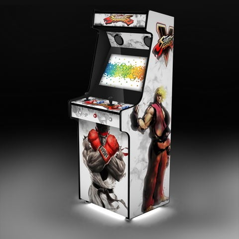 Street Fighter white Upright