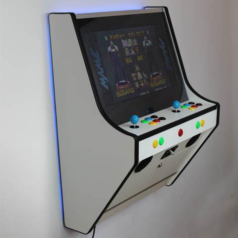 Funkycade Wall Arcade Machine White