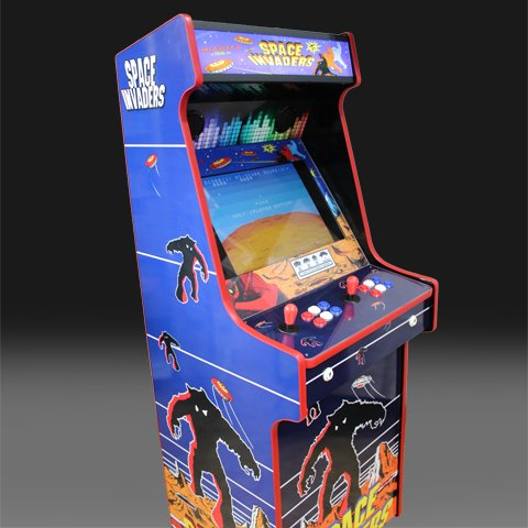 Space Invaders Arcade Machine (1)