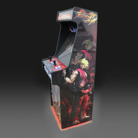 Street Fighter Upright Arcade