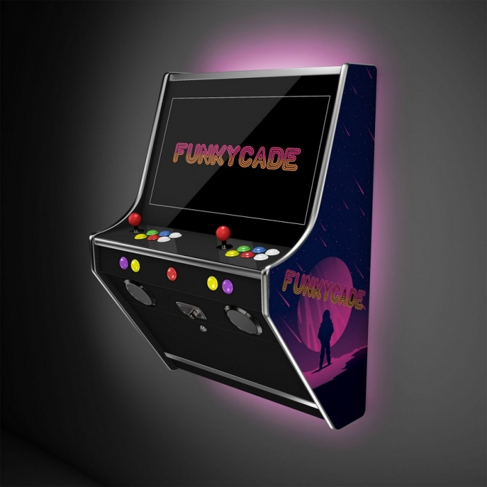 funkycade wall arcade machine wallcade
