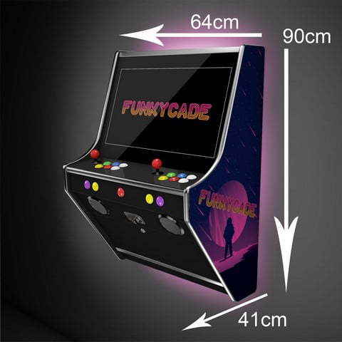 The Funkycade Wall Arcade Machine