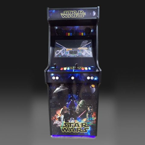 Star Wars Upright Arcade