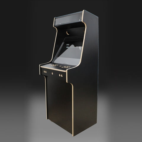 Upright Arcade Machine Flat Pack Acryl Kit