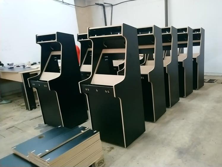 portofolio arcade machines
