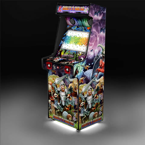 Ghosts'n Goblins Arcade Machine