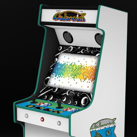 Galaxian Arcade Machine