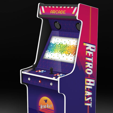 Retro Blast Arcade Machine