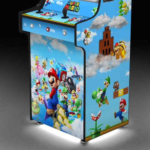 Super Mario Arcade Machine