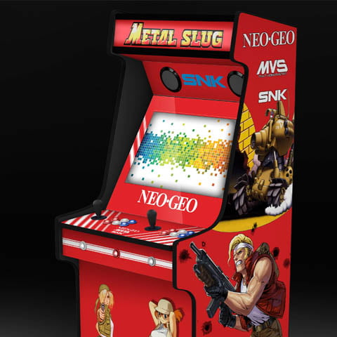 Metal Slug Neo Geo Arcade Machine