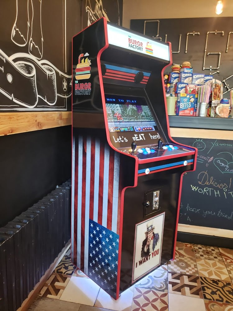 Arcade on The BURGR FACTORY!
